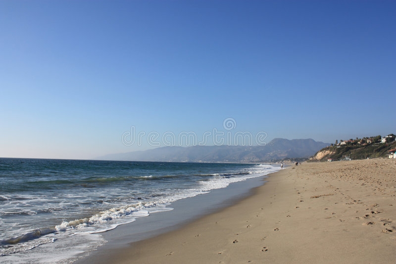 plażowy California dume punkt obrazy royalty free