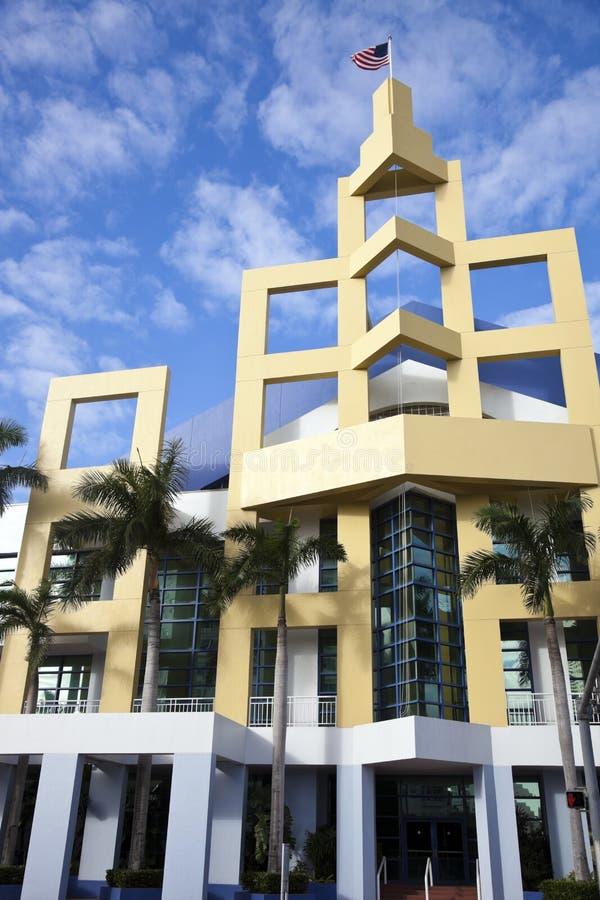 plażowy centrum covention Miami zdjęcie royalty free