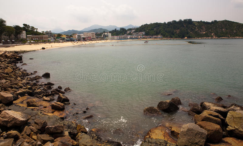 plażowy chau cheung Hong wyspy kong zdjęcia stock
