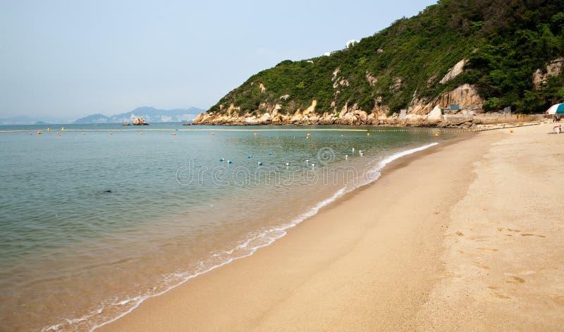 plażowy chau cheung Hong wyspy kong fotografia stock