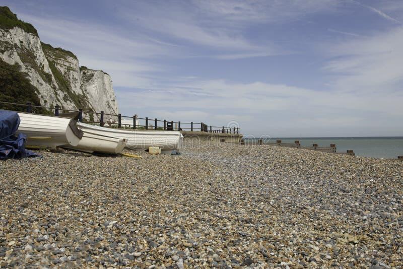 plażowy cliffe Margaret s st zdjęcia royalty free