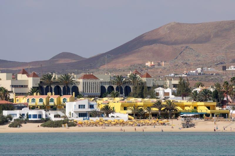 plażowy corralejo Fuerteventura zdjęcia stock