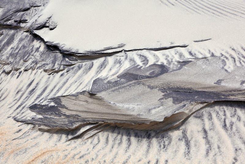 plażowy diun form struktur wiatr obrazy royalty free