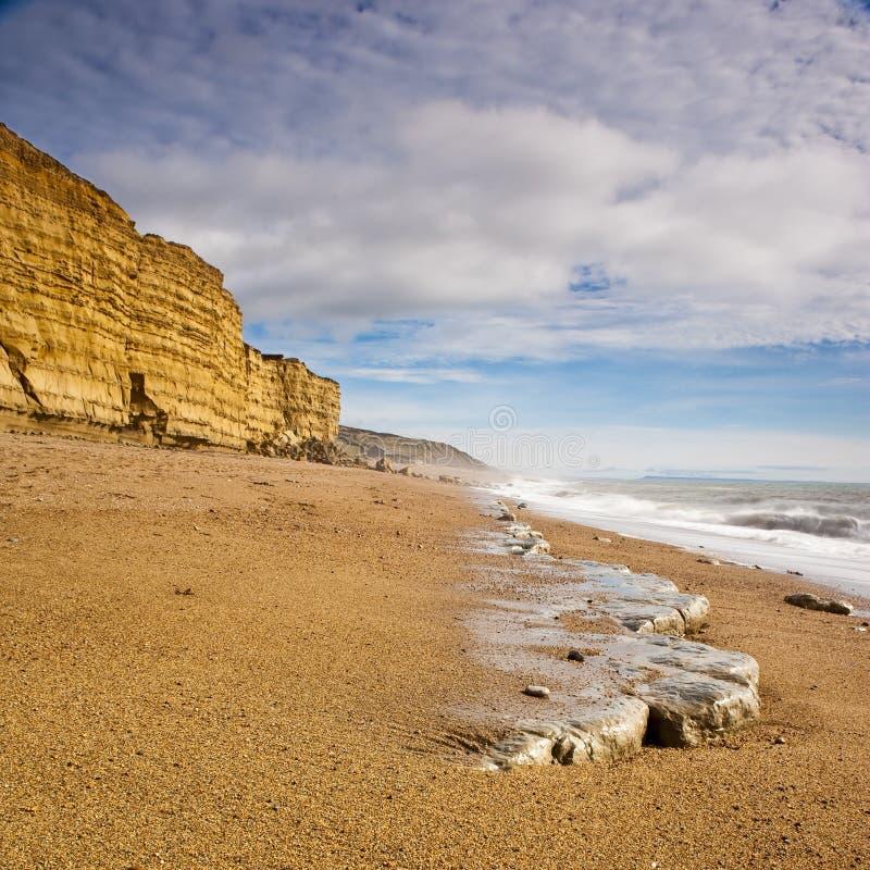 plażowy Dorset zdjęcie royalty free