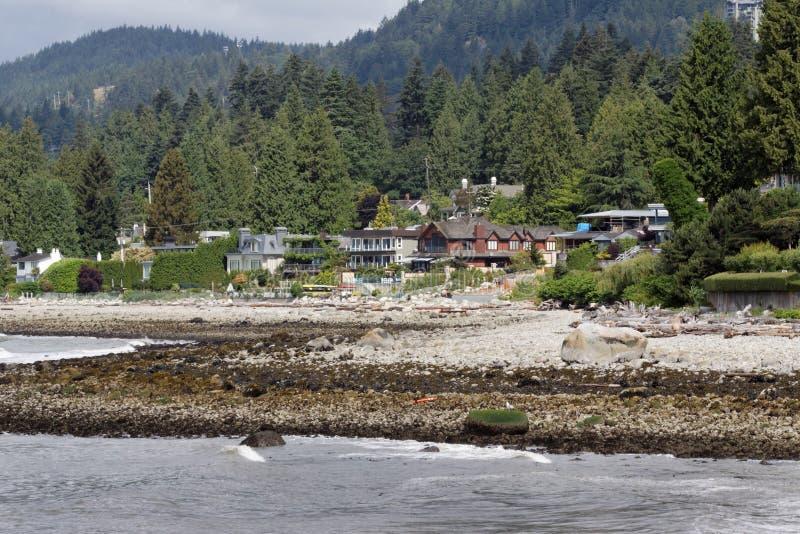 plażowy dundarave Vancouver obrazy stock
