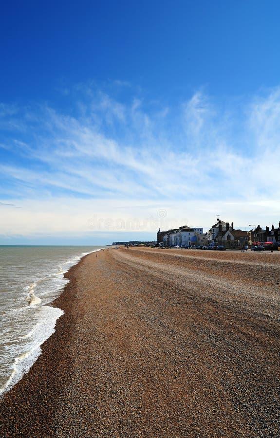 plażowy dylowy Kent fotografia stock