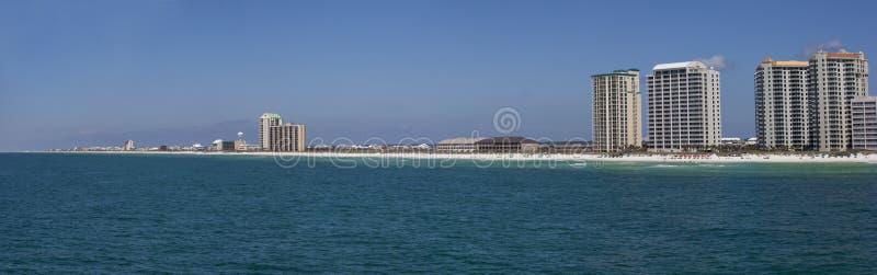 plażowy Florida Navarre panoramiczny fotografia stock