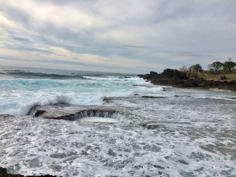 Plażowy głębia basen fotografia stock