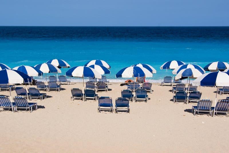 plażowy Greece fotografia stock