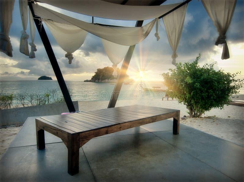 plażowy hol zdjęcie royalty free