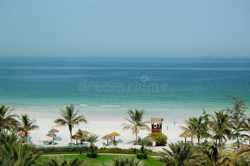 plażowy hotelowy luksus obraz royalty free