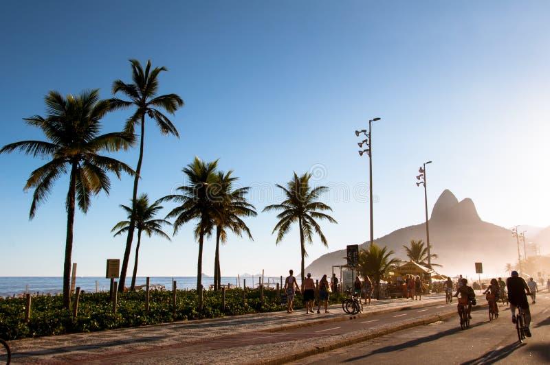 plażowy ipanema zdjęcia royalty free