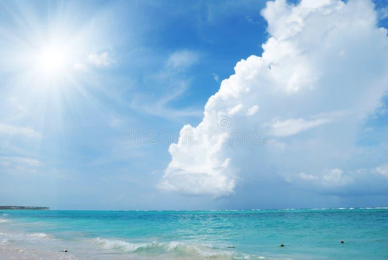 plażowy karaibski fotografia royalty free