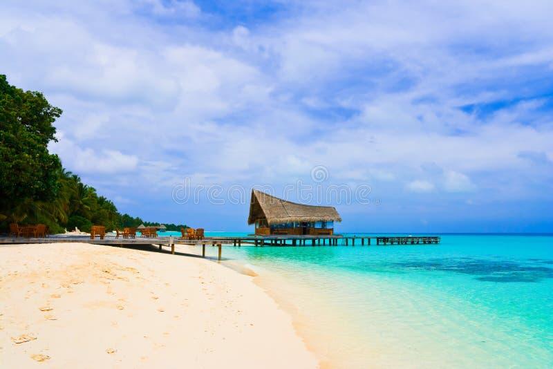 plażowy kawiarni klubu pikowanie fotografia stock