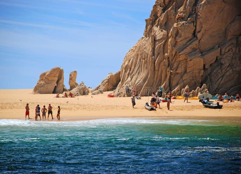 plażowy kochanek s zdjęcie royalty free