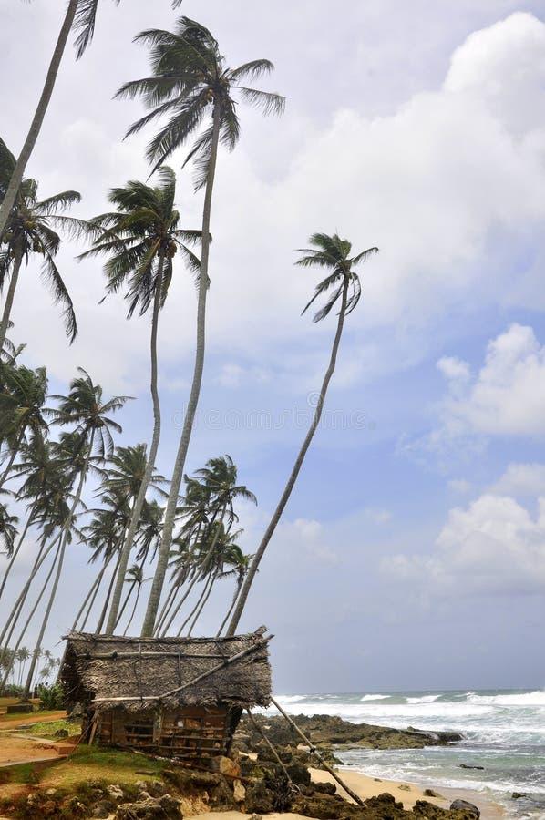 plażowy lanka sri unawatuna zdjęcie stock