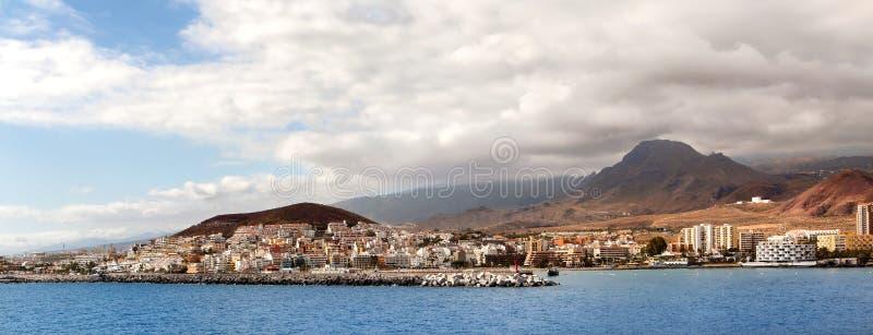 Plażowy Las Ameryki w Tenerife wyspie obraz stock