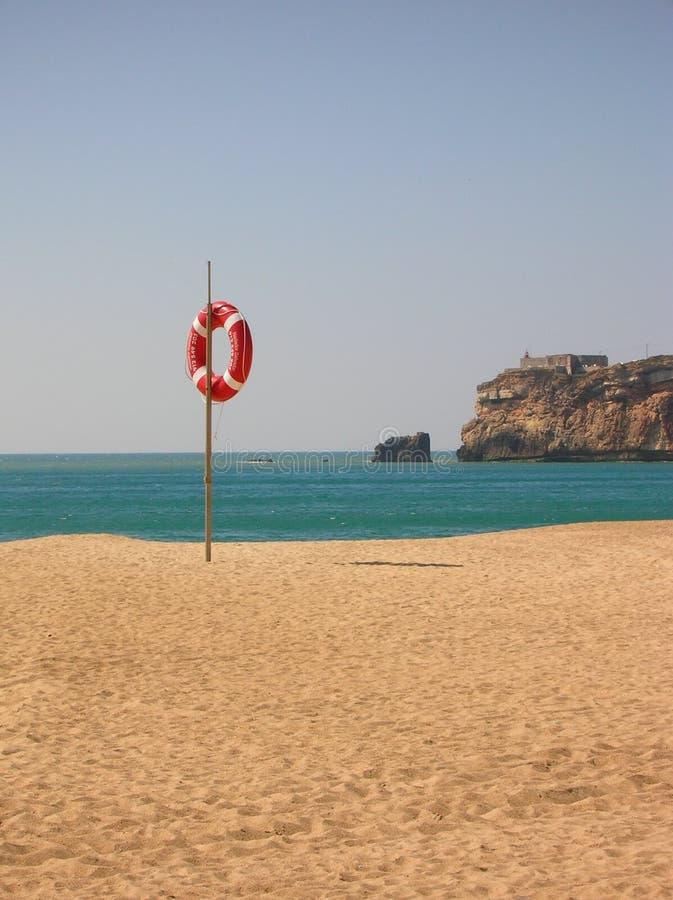 plażowy lifebelt zdjęcie stock