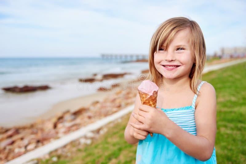 Plażowy lody fotografia stock