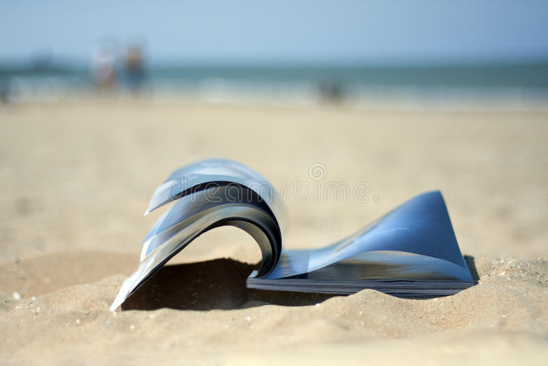 plażowy magazyn obrazy royalty free