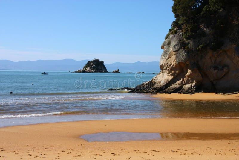plażowy nowy Zealand zdjęcia stock