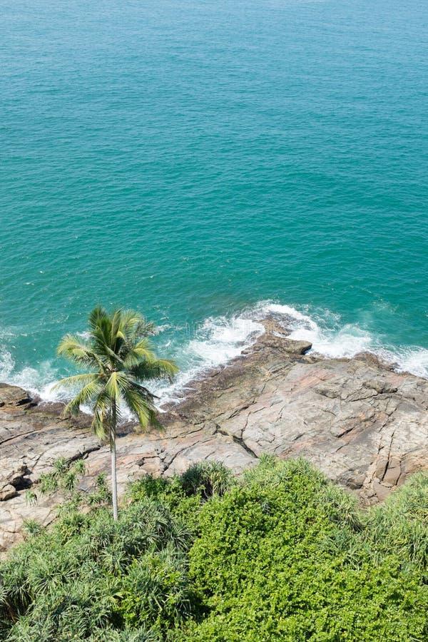 plażowy oceanu indyjskiego fotografia stock