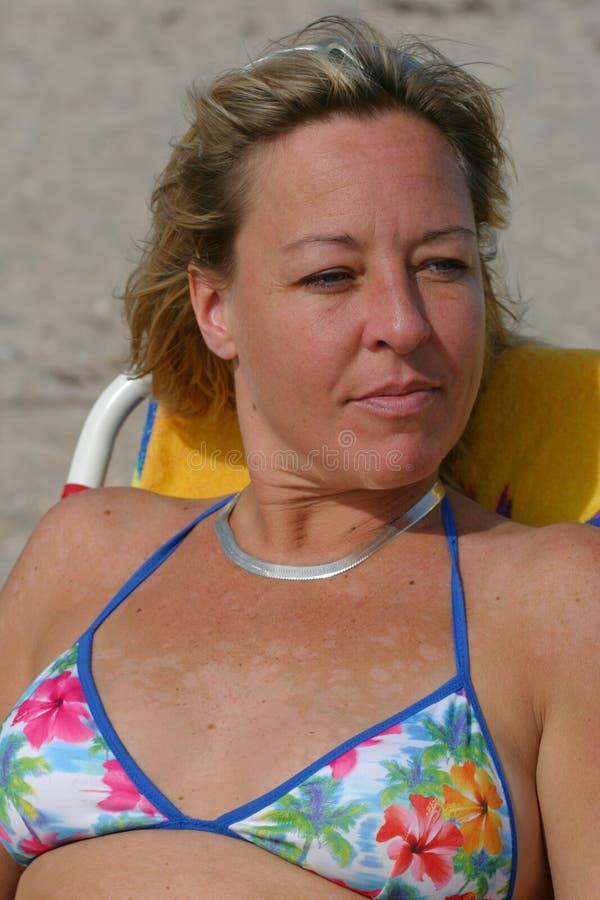 Download Plażowy Odprężające Florydy Ciepła Obraz Stock - Obraz złożonej z portret, świecenie: 49469