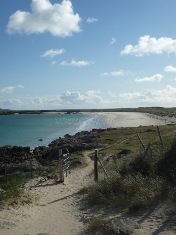 plażowy osamotniony obraz stock