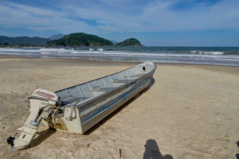 Plażowy Pedra da Praia robi Meio Trindade, Paraty Rio De Janeiro stanik zdjęcie stock