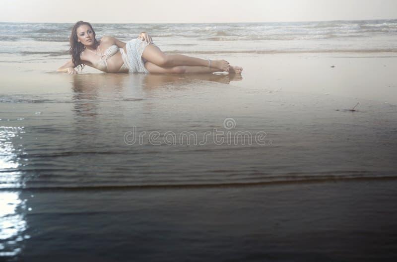 plażowy piękno fotografia royalty free