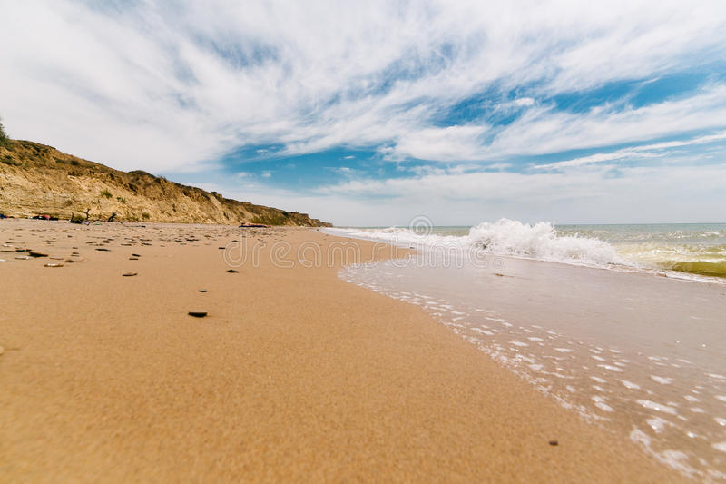 Plażowy piękno obrazy royalty free