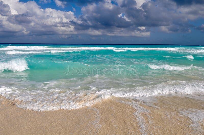 plażowy piękny Cancun fotografia stock