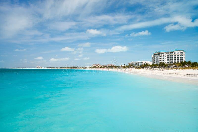 plażowy piękny tropikalny fotografia royalty free