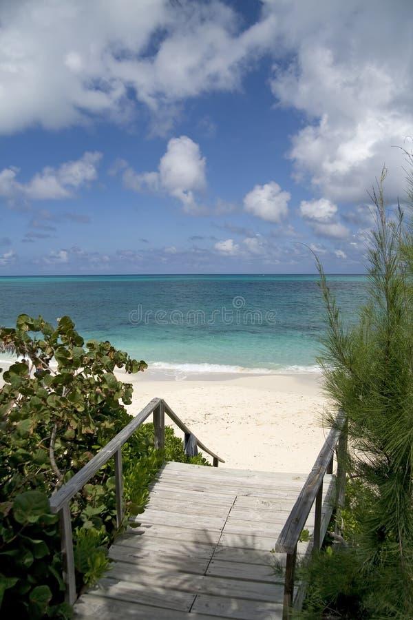 plażowy piękny tropikalny fotografia stock