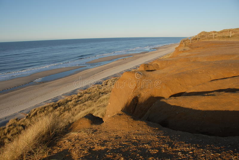 plażowy piaskowaty sylt obrazy royalty free