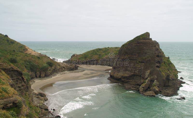 plażowy piha obraz royalty free