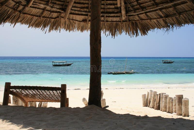 plażowy relaksujący czas fotografia stock
