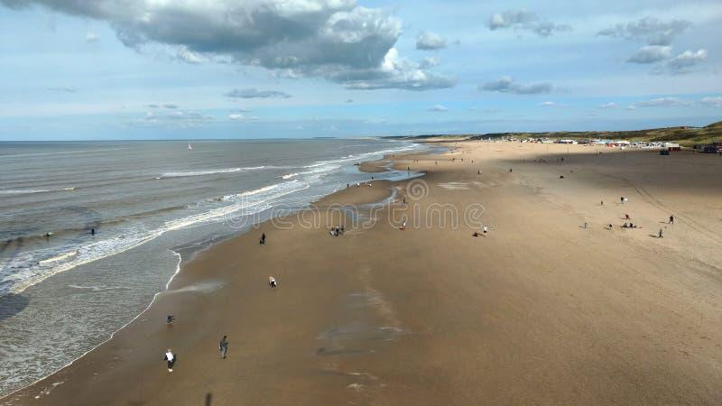 plażowy szeroki zdjęcia stock