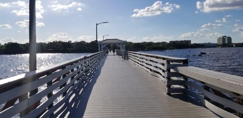 Plażowy teren w centrum Tampa fotografia royalty free