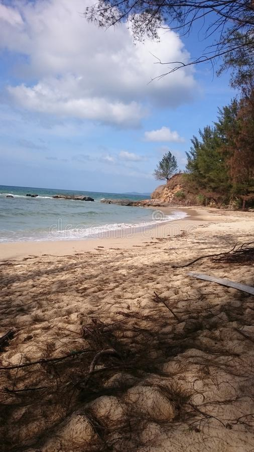 Plażowy Tindakon Dazang obraz royalty free