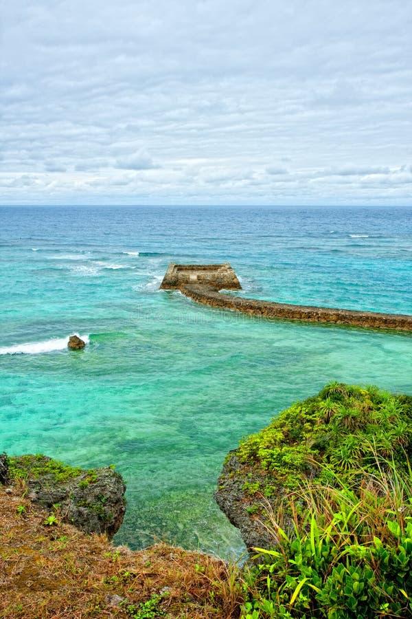 plażowy tropikalny zdjęcie royalty free