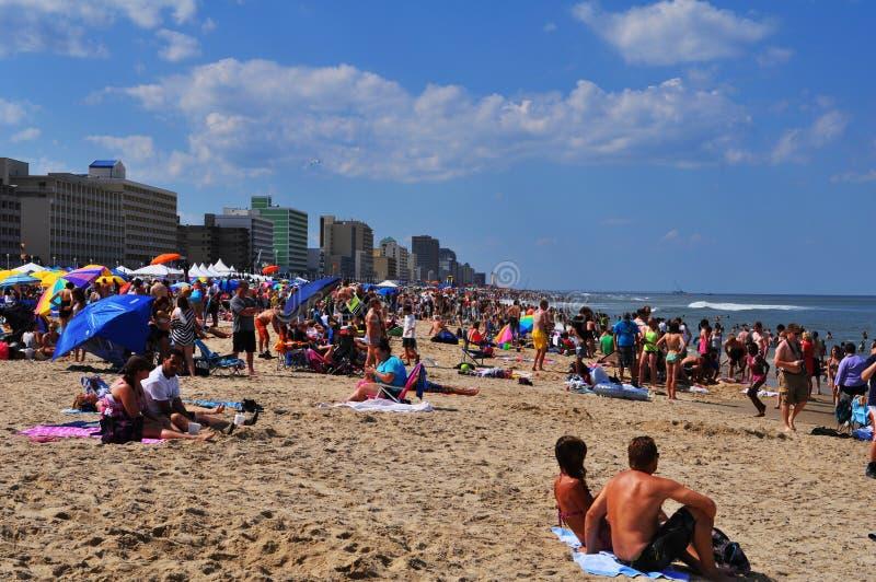 plażowy Virginia zdjęcia royalty free