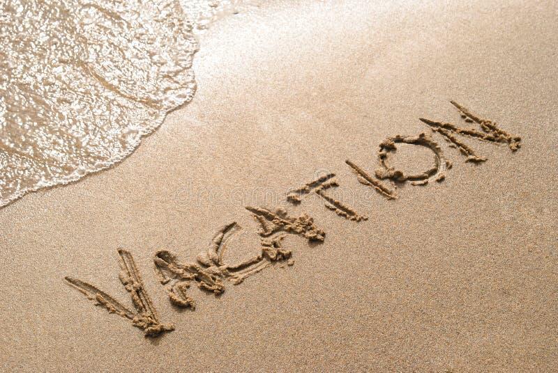 plażowy wakacje obrazy royalty free