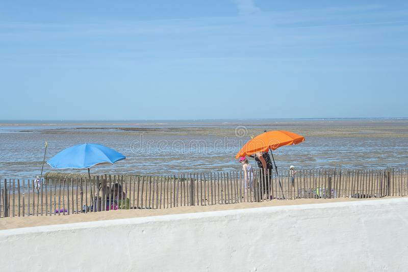 Plażowy wakacyjny pojęcie zdjęcia stock