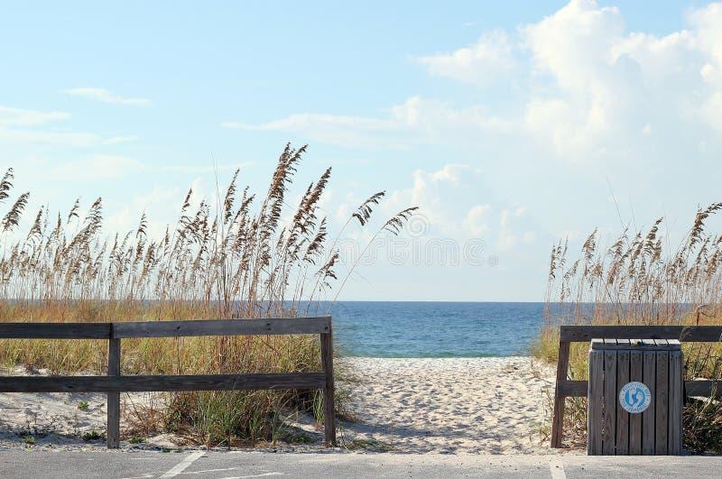 Plażowy Wejście zdjęcie royalty free