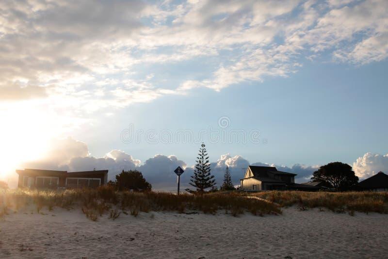 plażowy whangamata zdjęcie stock