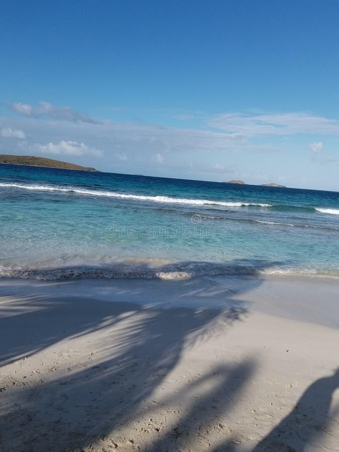 Plażowy widok fotografia stock