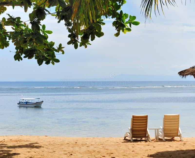 plażowy widok obrazy stock