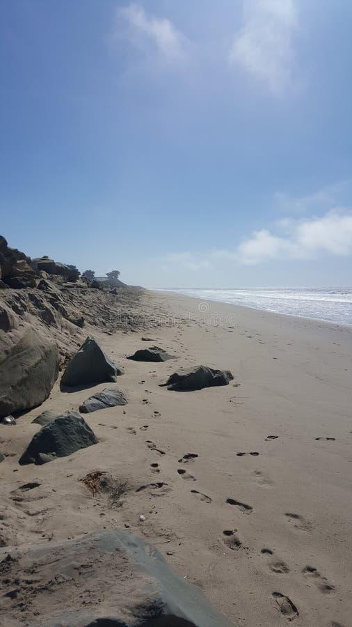 Plażowy widok zdjęcie royalty free