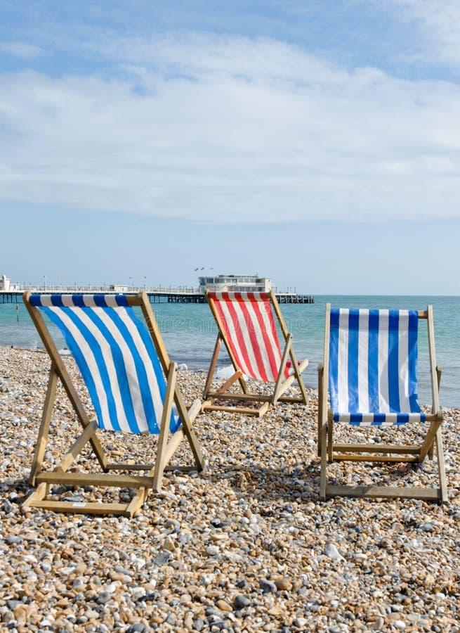 plażowy worthing obrazy royalty free